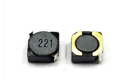 Indutor Blindado Poder Indutores Smd 5d28 Volume: 6*6*3 220uh