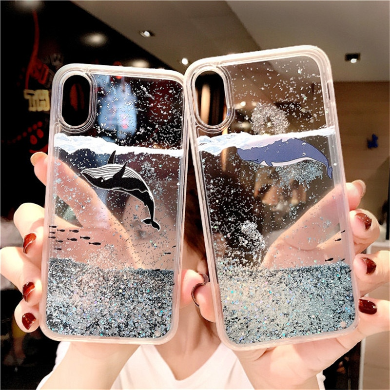 Блестящий чехол для Samsung Galaxy S10 S8 S9 Plus S7 S6 edge Note 9 8 с зыбучим песком для A50 A70 A6 A8 A7 2018 J3 J5 J7 A3 A5 2017