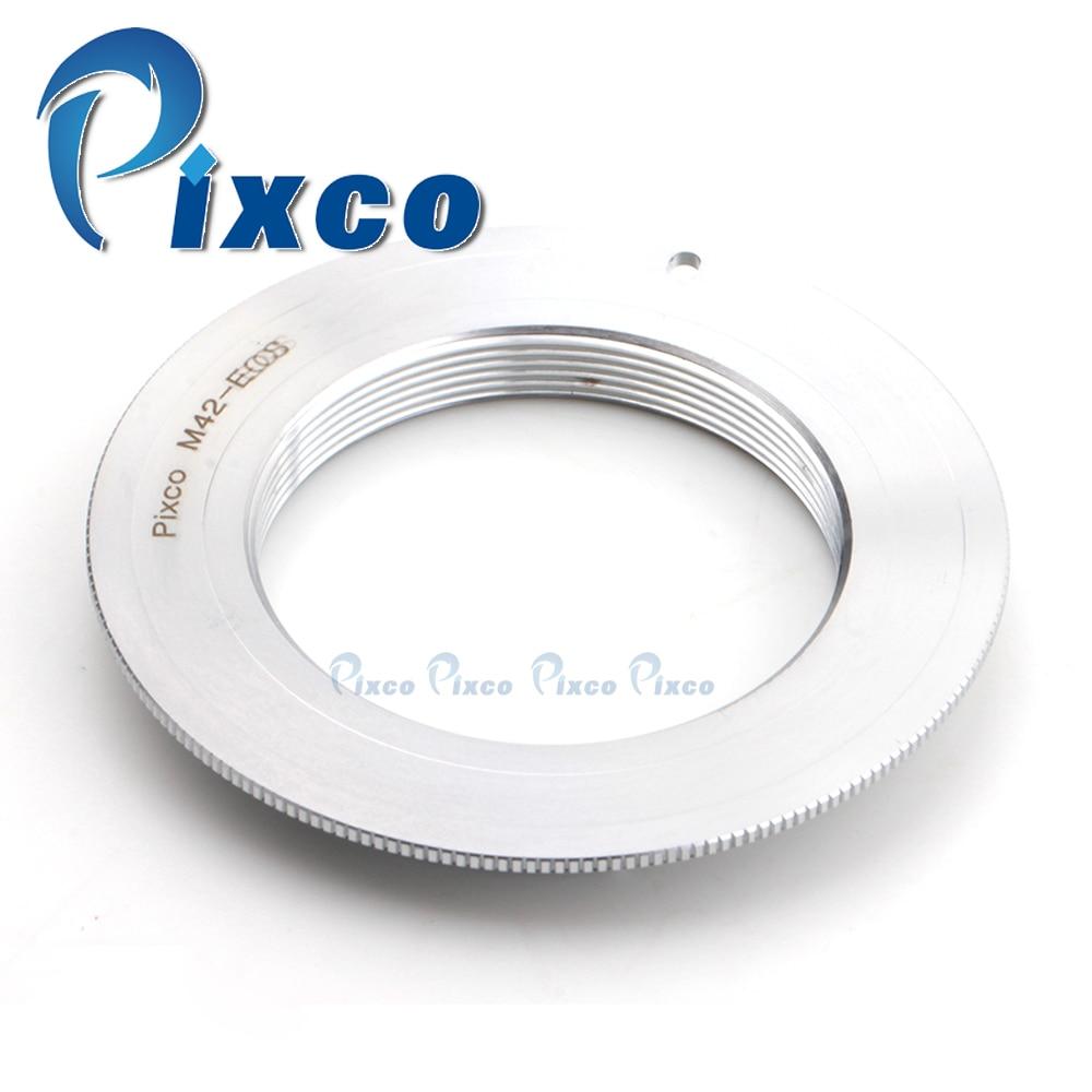 ADPLO 010970X50, anel Adaptador (broadside) para lente M42 para terno para Canon EOS câmera 5D Mark III 7D 750D, 50 pcs M42-Para EOS