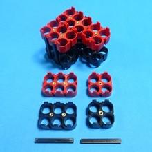 Support de batterie au lithium-ion EV car 18650 4 P/6 P matériau ABS + PC support de batterie 18650 de haute qualité pour batterie de grande puissance