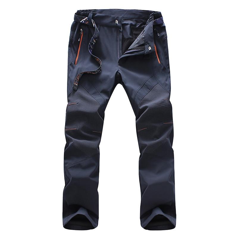 Pantalones de verano Charge para hombre, pantalones deportivos para exteriores, pantalones finos impermeables de secado rápido para senderismo