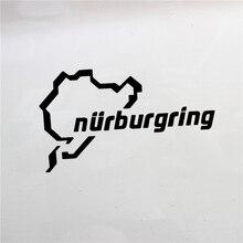 New Nurburgring Car Racing Road Funny Van Window Bumper For Jdm Vw Vag Euro Vinyl Decal Reflective S