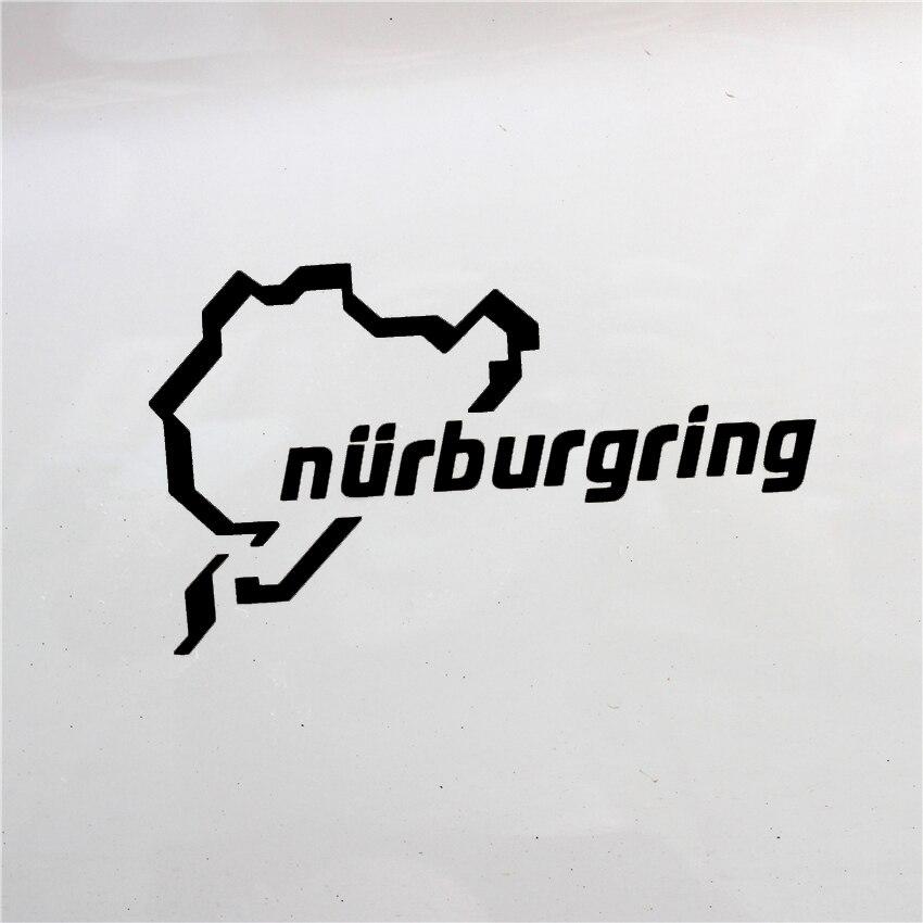 Nuevo Nurburgring, coche de carreras de carretera divertido Van ventana parachoques para Jdm Vw Vag Euro calcomanía de vinilo reflectante etiqueta engomada Accesorios Estilo