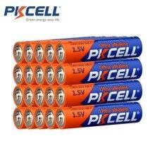 36 pcs/lot PKCELL LR03 1.5 V batterie AAA piles alcalines E92 AM4 MN2400 MX2400 1.5 volts AAA batterie sèche 3A Bateria Baterias