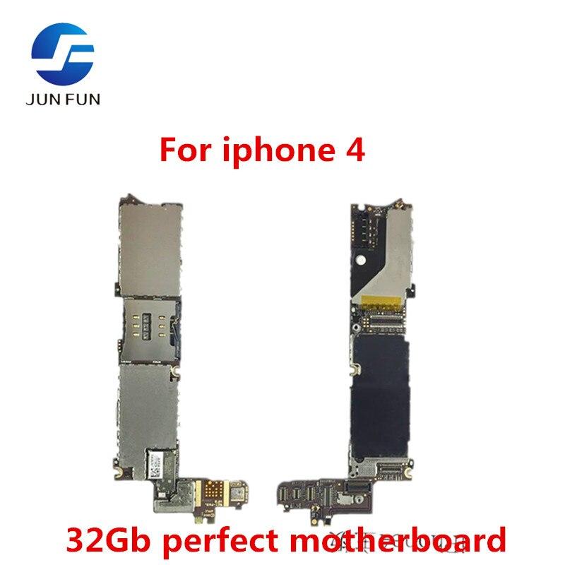 Материнская плата JUN FAN 32 Gb версия для iPhone 4 100% идеальная разблокированная