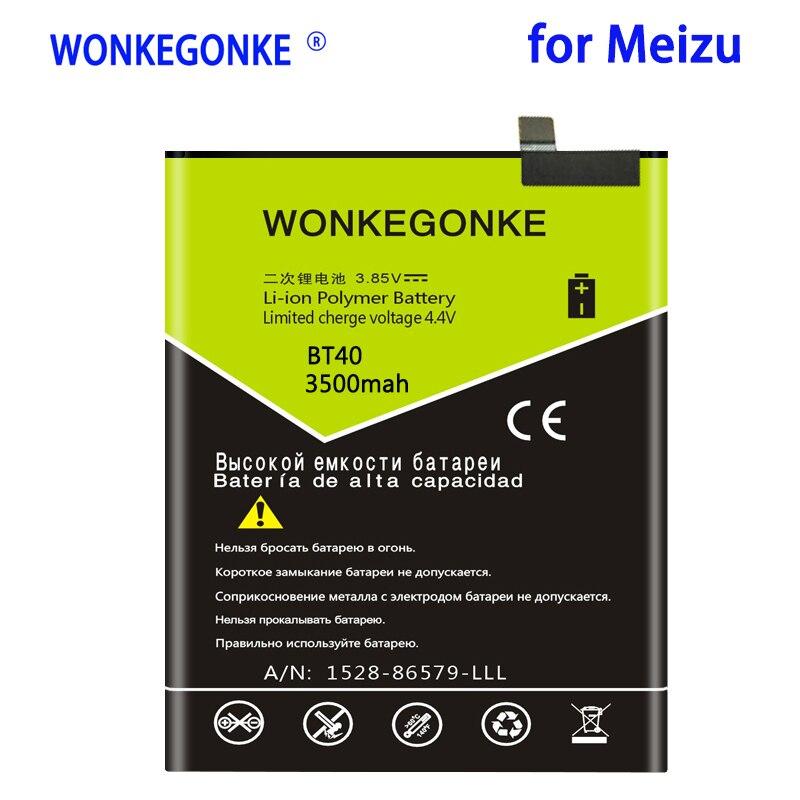 WONKEGONKE 3500mah BT40 batería para Meizu MX4 BT40 MX 4 BT 40...