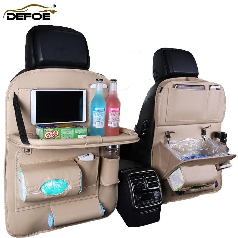 Подушка для автомобильного сиденья, чехол на заднее сиденье, складная обеденная стойка, автомобильное сиденье, многофункциональная сумка д...