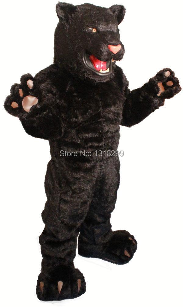 Disfraz de mascota Pantera Negra disfraz de fantasía disfraz de Carnaval
