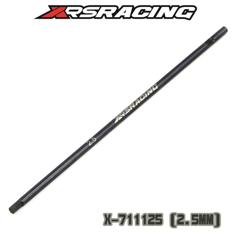XRSRACING high quality Titanium Super-hard ALLEN WRENCH 1.5 2.0 2.5 3.0 TIP ONLY 120MM Hexagon Replace screwdriver head rc tool enlarge