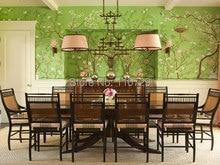 Papier peint chinois peint à la main   Ornements tendance, style Europe, fleurs peintes à la main, avec oiseaux couvrant le mur, beaucoup de photos en option
