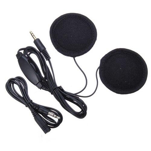 TOYL Motorcycle Bike Scooter Helmet Sports Stereo Headphones Headset For MP3 Phone Black