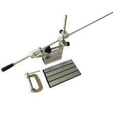Affûteuse de bord dapex de couteau de système de meulage daffûteuse de couteau avec 4 pièces pierre à aiguiser de diamant 200 400 800 1500 # grain