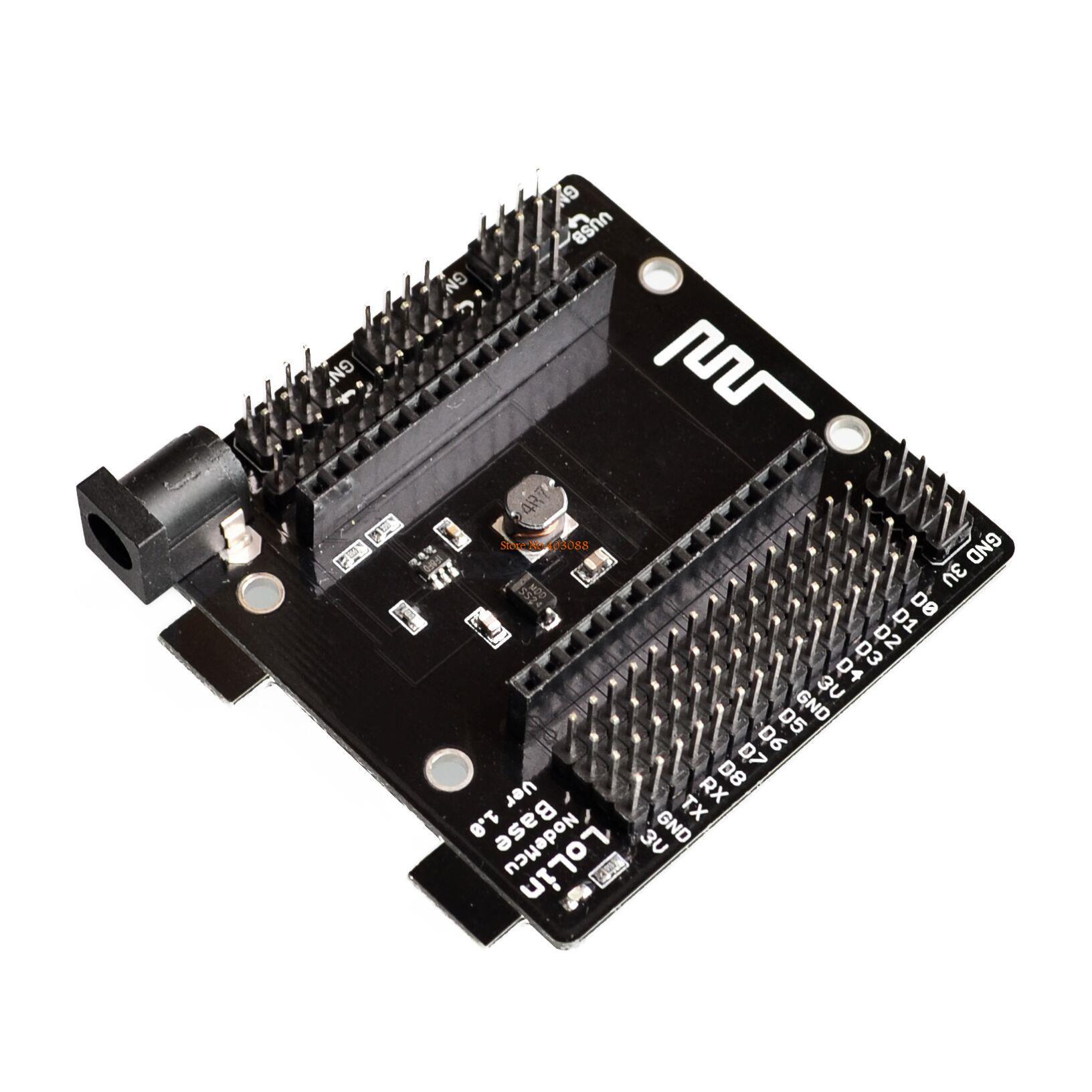 10 pçs/lote nodemcu nó mcu base esp8266 teste diy breadboard basics tester adequado para nodemcu v3