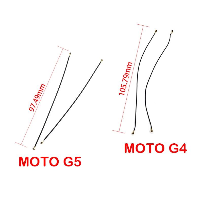 Nuevo Compatible para Motorola moto G4 G5 Antena de señal Cable Flex Coaxial Wifi antena señal Flex Cable