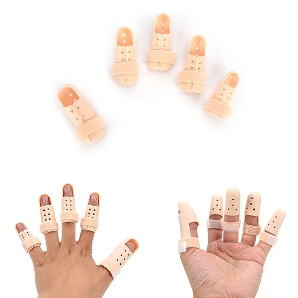 FÉRULAS DE Phalanx de ruptura de tendón, Extensor de pulgar de dedo roto, férula de fijación de fractura, férula ortopédica, enfermería de dedo fijo