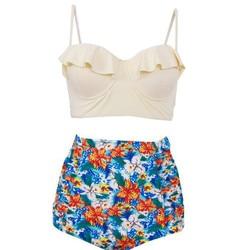 MAGGIES WALKER Swimwear de Maternidade As Mulheres Grávidas Biquíni Maiô Maternidade Halter Plus Size Swimwear Praia Fatos de Banho