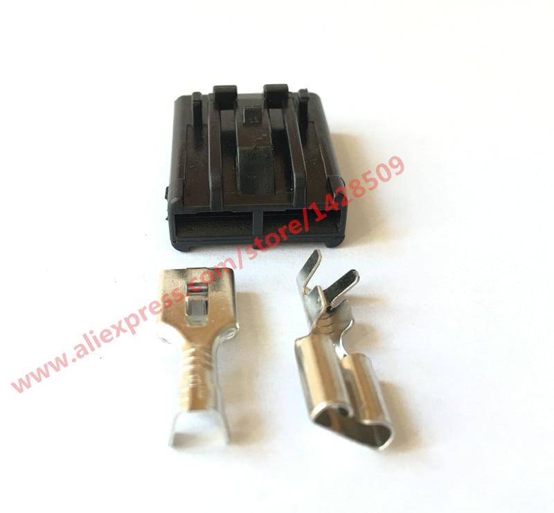 20 Conjuntos Femininos 346027-1 AMPÈRES Tyco Conector Auto Chicote de Fios do Sensor De 2 Pinos
