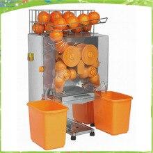 220В 50Гц Коммерческая Автоматическая оранжевая соковыжималка машина свежий Электрический лимон оранжевый соковыжималка машина