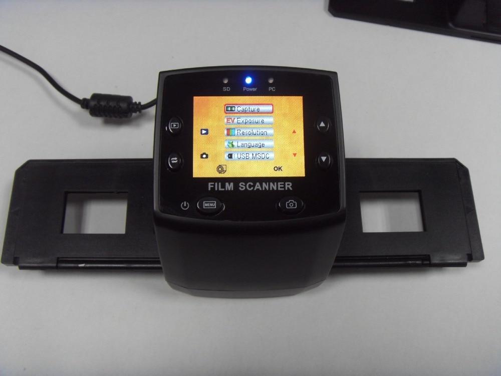 REDAMIGO 5MP 35mm Portable SD card Film scan Photo Scanners Negative Film Slide Viewer Scanner monochrome USB MSDC EC717-1