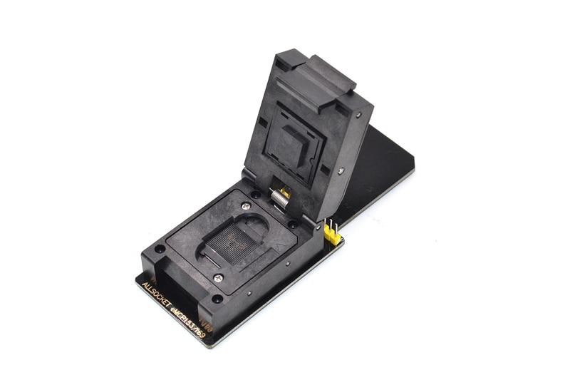 BGA169 BGA153 Short320 eMMC hembra eMMC169 153 hembra SD prueba de memoria flash NAND de programación adaptador