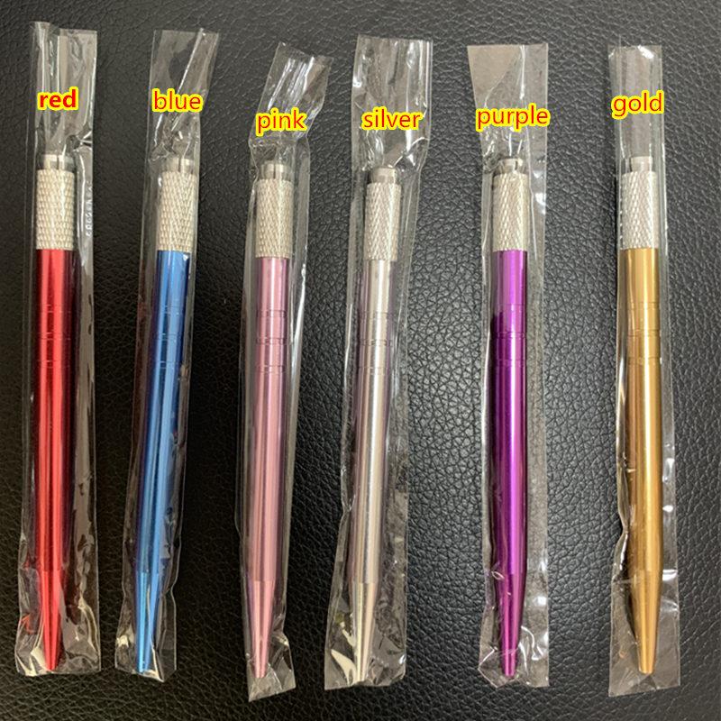 20pcs Microblading Pen Kit Caneta Tebori Perfect Wires Microblading Classic Manual Eyebrow Tattoo Gun