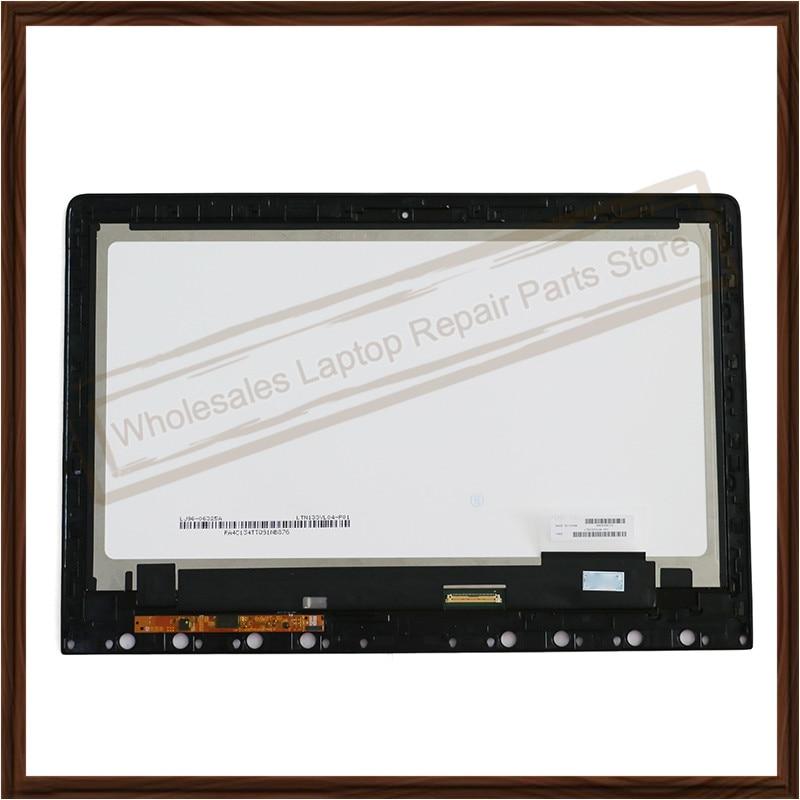 "Original 13,3 ""Lcd de ordenador portátil Led pantalla de matriz de LTN133YL04-P01 para LENOVO Ideapad Yoga 3 Pro 13 montaje de pantalla LCD 3200x1800"