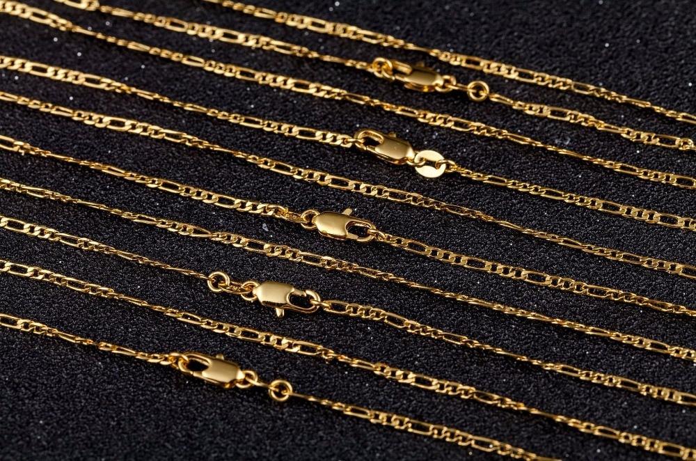2-мм-Плоское-Ожерелье-цепочка-для-мужчин-и-женщин-золото-серебро-ювелирные-изделия-цепочка-figaro-ожерелье-16-18-20-22-24-26-28-30-дюймов-оптовая-прод