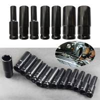 Professional 1PC 1/2-Inch Drive Deep Socket Set Metric 8mm - 32 mm