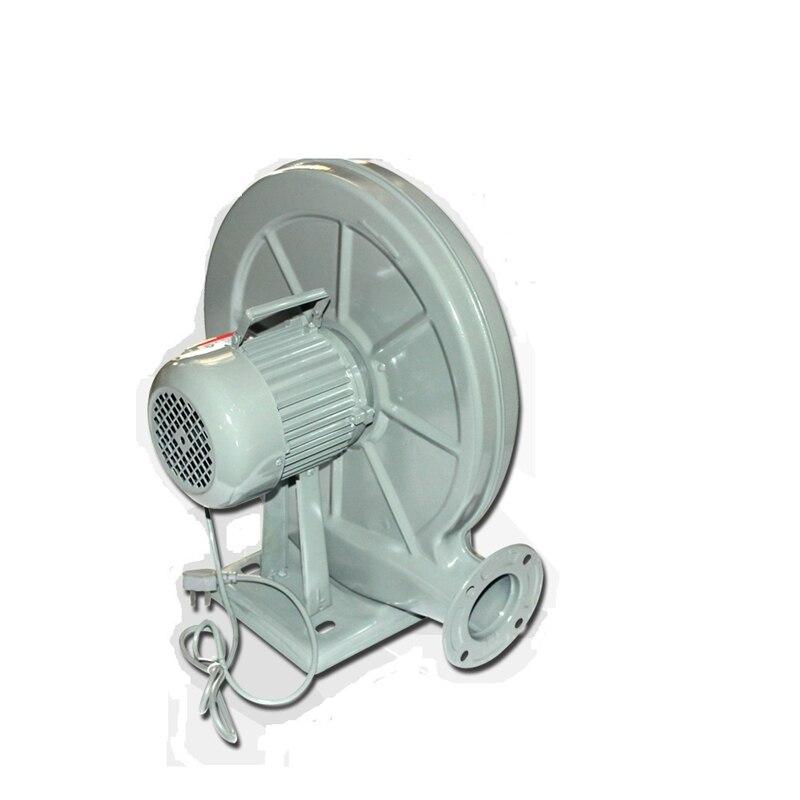Ventilador de escape de 550W, ventilador centrífugo de 220V, bajo nivel de ruido para máquina láser, enrutador CNC