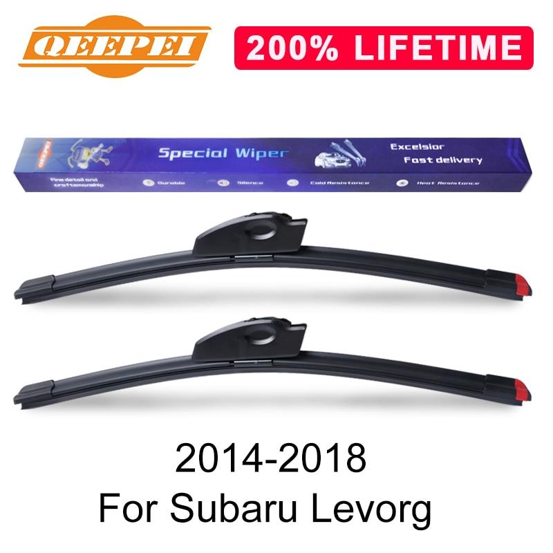 Qeepei Vervangen Wisser Voor Subaru Levorg 2014-2018 Silicone Rubber Voorruit Ruitenwisser Auto Accessoires