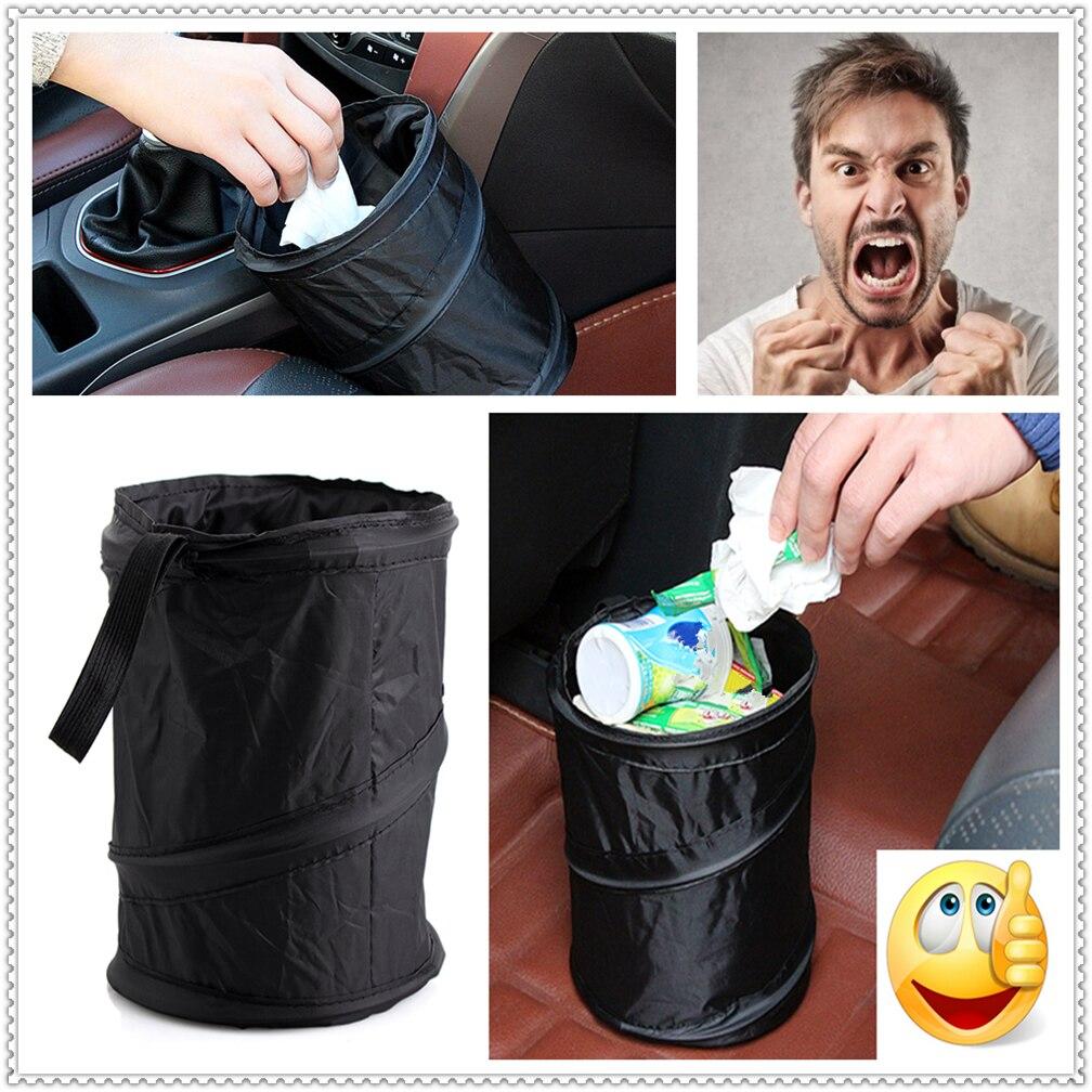 Carro à prova dwaterproof água lata de lixo saco à prova de vazamento bolso de lixo para ssangyong rexton w actyon korando c stavic esporte kyron tivoli musso