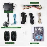 Пульт дистанционного управления PKE для смартфона, совместим с системой Android/iso, центральный замок двигателя автомобиля