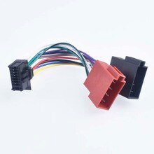 Автомобильный Радио жгут провода 16Pin разъем кабель для Pioneer ISO разъем 2010 +