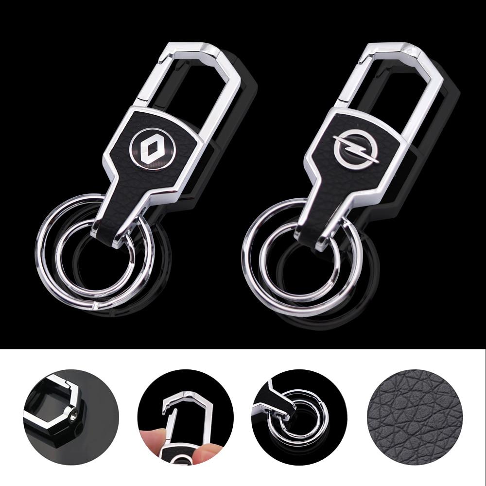 מתכת רכב סטיילינג Keychain רכב מפתח טבעת רכב מפתח שרשרת מחזיק סוכנת הבית ניסן Bmw הונדה סקודה פולקסווגן KIA יונדאי טויוטה אופל