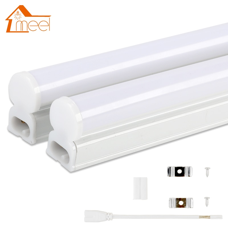 LED Tube T5 Lamp 220V 230V 240V PVC Plastic Fluorescent Light Tube 30cm 60cm 6W 10W LED Wall Lamp Wa