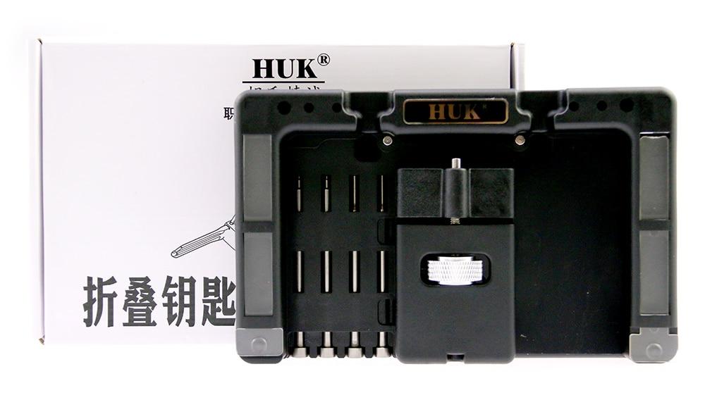 2018 de alta calidad Original HUK Fijación de llave herramienta flip llave Vice de Flip-clave Pin removedor de cerrajero herramienta envío gratis