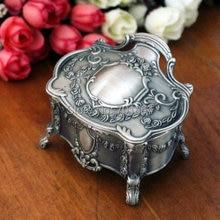 Style européen mode métal bijoux boîte bibelot boîte Nenya anneaux boîte demballage bijoux stockage collier boîte cadeau boîte