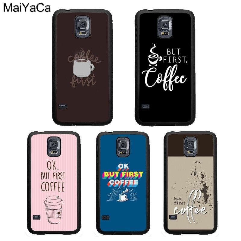 Bien, pero el primer café teléfono caso para Samsung Galaxy A51 A71 A50 A70 A10 A30S A40 Nota 10 S8 S9 S20 Ultra S10 más S10e