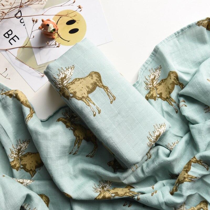 muslin tow layer Bamboo+cotton Baby muslin blankets Swaddles Newborn Blankets Gauze infant wrap sleepsack swaddleme bath towel