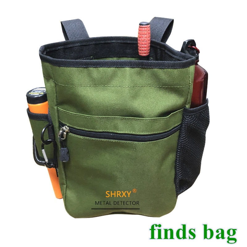 Metal Detector Pouch Bag Digger Supply Treasure Waist Pack Good Luck Finds Bag Garden Detecting Tools Shovel ProFind Bag