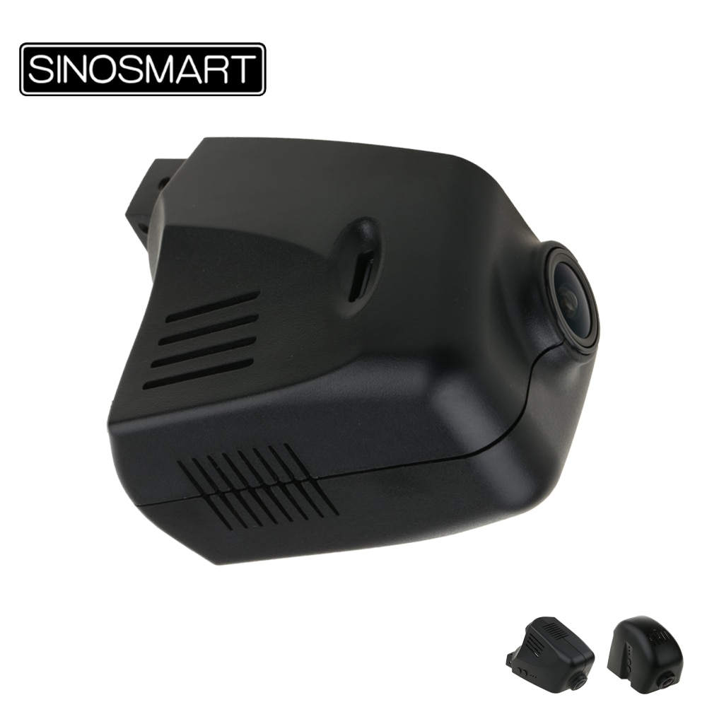 SINOSMART Novatek 96658 Car Wifi DVR for Porsche Panamera/Macan/Cayenne/Cayman/911/918/919 Control by App SONY IMX323