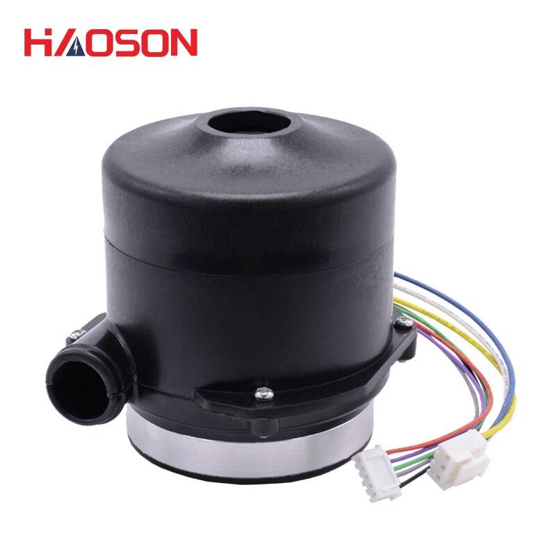 Soplador centrífugo sin escobillas de doble capa 9290 48 VDC, pequeño volumen de aire, bomba de aire de alta presión, WS9290-48-240-V200 de ventilador de bomba de vacío