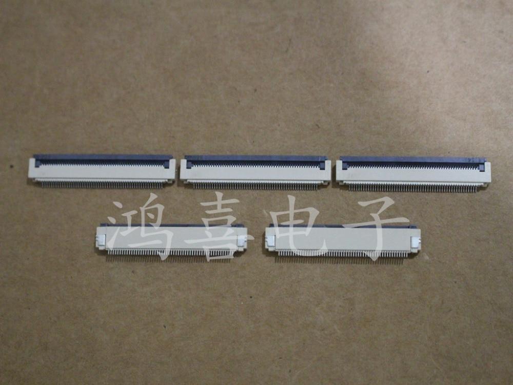 WZSM Новый FFC гнезда соединителя fpc 0,5 мм шаг 60pin 16pin 24pin 50pin 15pin 54pin 10pin 20pin 30pin для захвата флип-коннектора