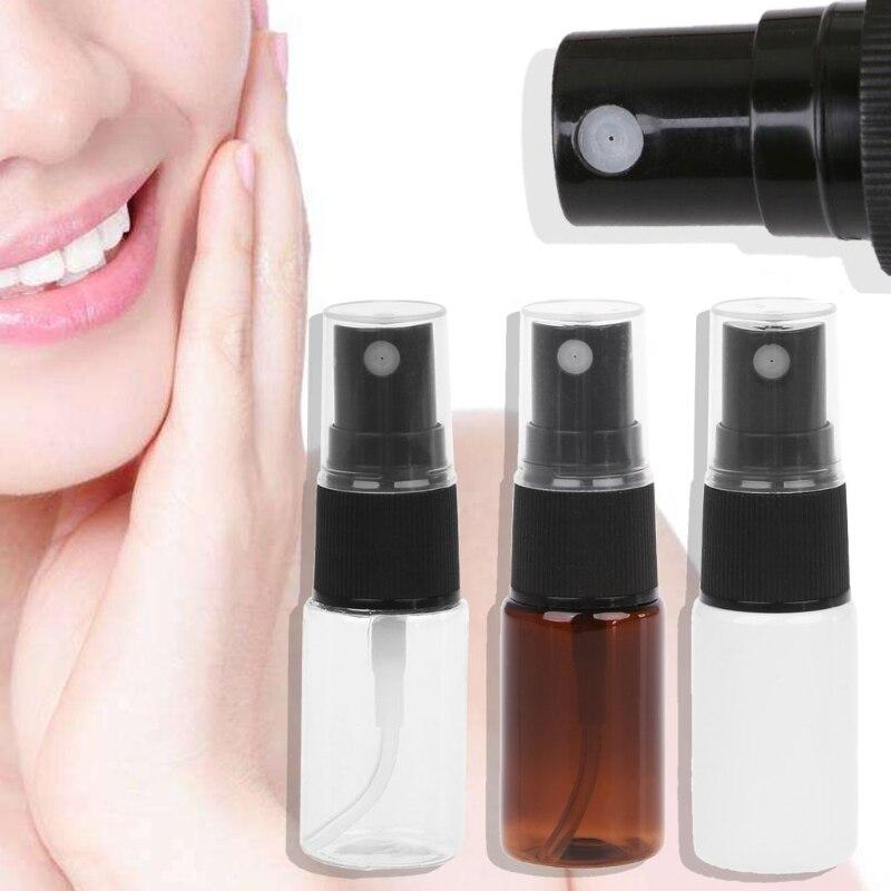 10ml de viaje rellenable Perfume atomizador bomba Spray botella vacía bomba