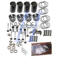 d4d engine rebuild kit for volvo excavator bl60 bl95
