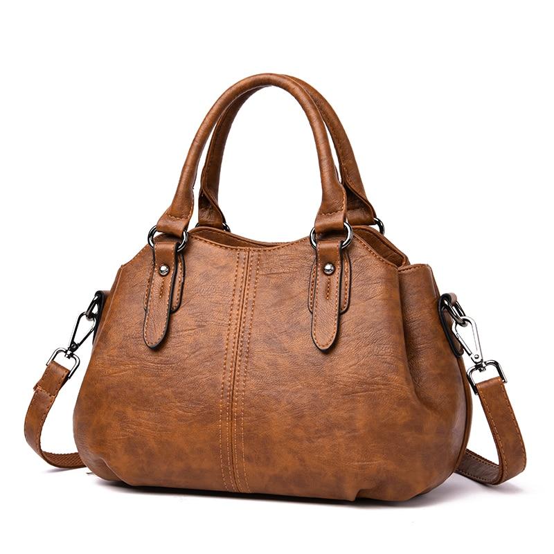Large Capacity Women Pu Leather Tote Bags Fashion Ladies Handbags Luxury Designer Women Crossbody Bag New Casual Messenger Bags