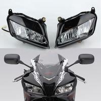 אופנוע ראש אור קדמי מנורת פנס להונדה CBR600RR CBR 600 RR 07 08 09 10 11 12 2007 2008 2009 2010 2011 2012