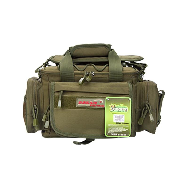 Dream Fishing 40*23*19cm Multi-Purpose Fishing Bag Waterproof France 1200D Nylon Bag Accessories Fishing Tools Lures Backpack enlarge