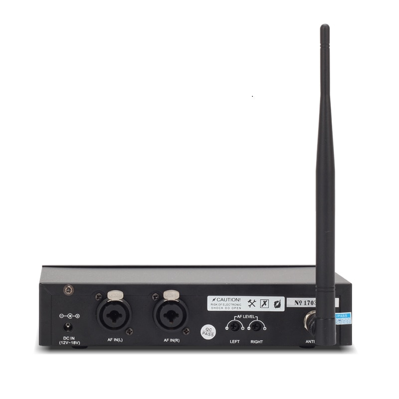 RU-510 Monitoring System Wireless in ear Monitor Professional for Stage Performance enlarge