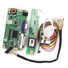 For QD15TL04 QD15TL02  VGA+DVI M.RT2261 LCD/LED Controller Driver Board 1280x800 LVDS Monitor Reuse Laptop
